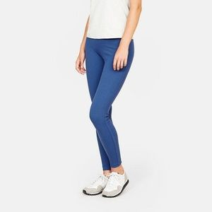 Outdoor Voices Parallels Ribbed Legging in Blue